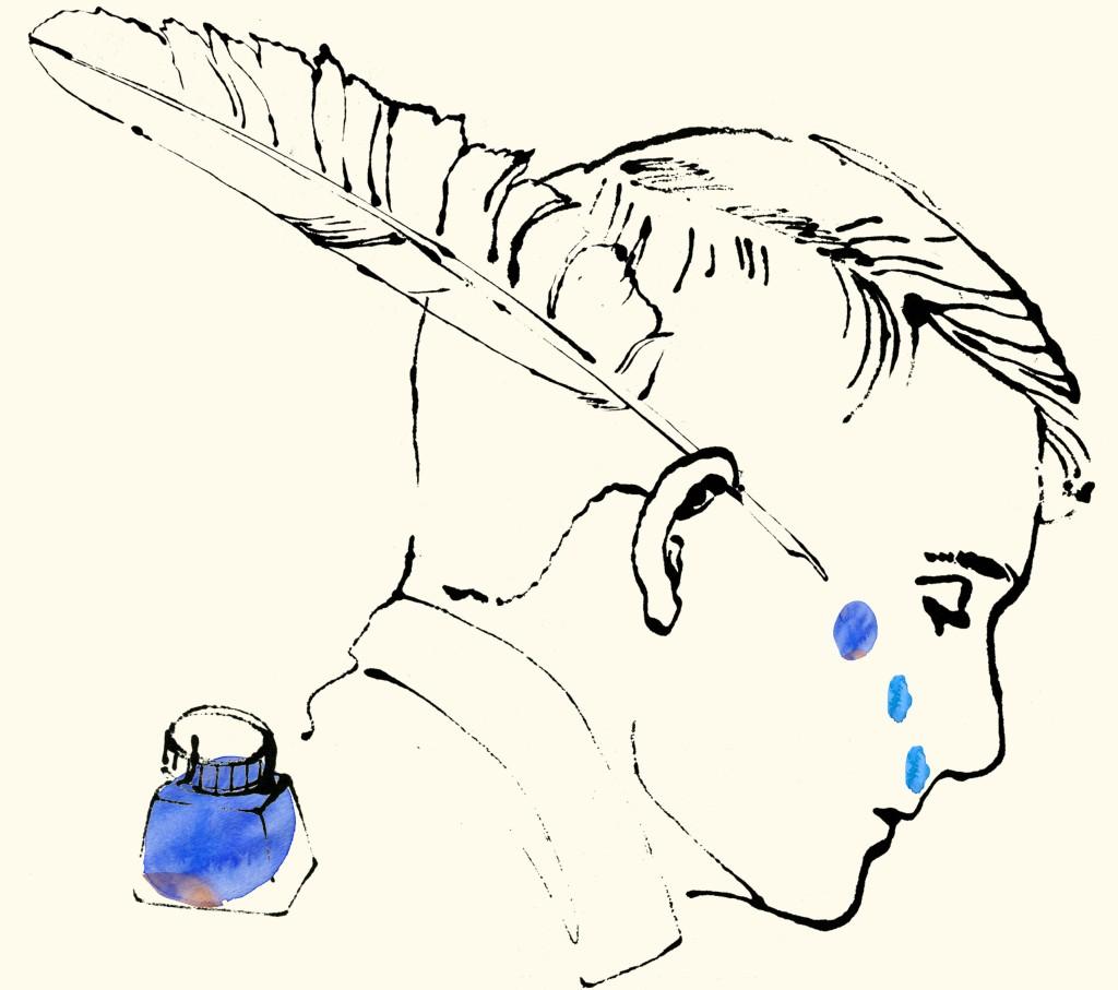 blottedline illustration