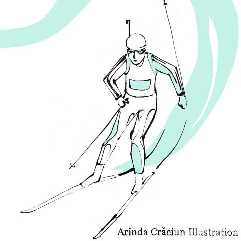 biatlon arinda craciun olympia olympics winter