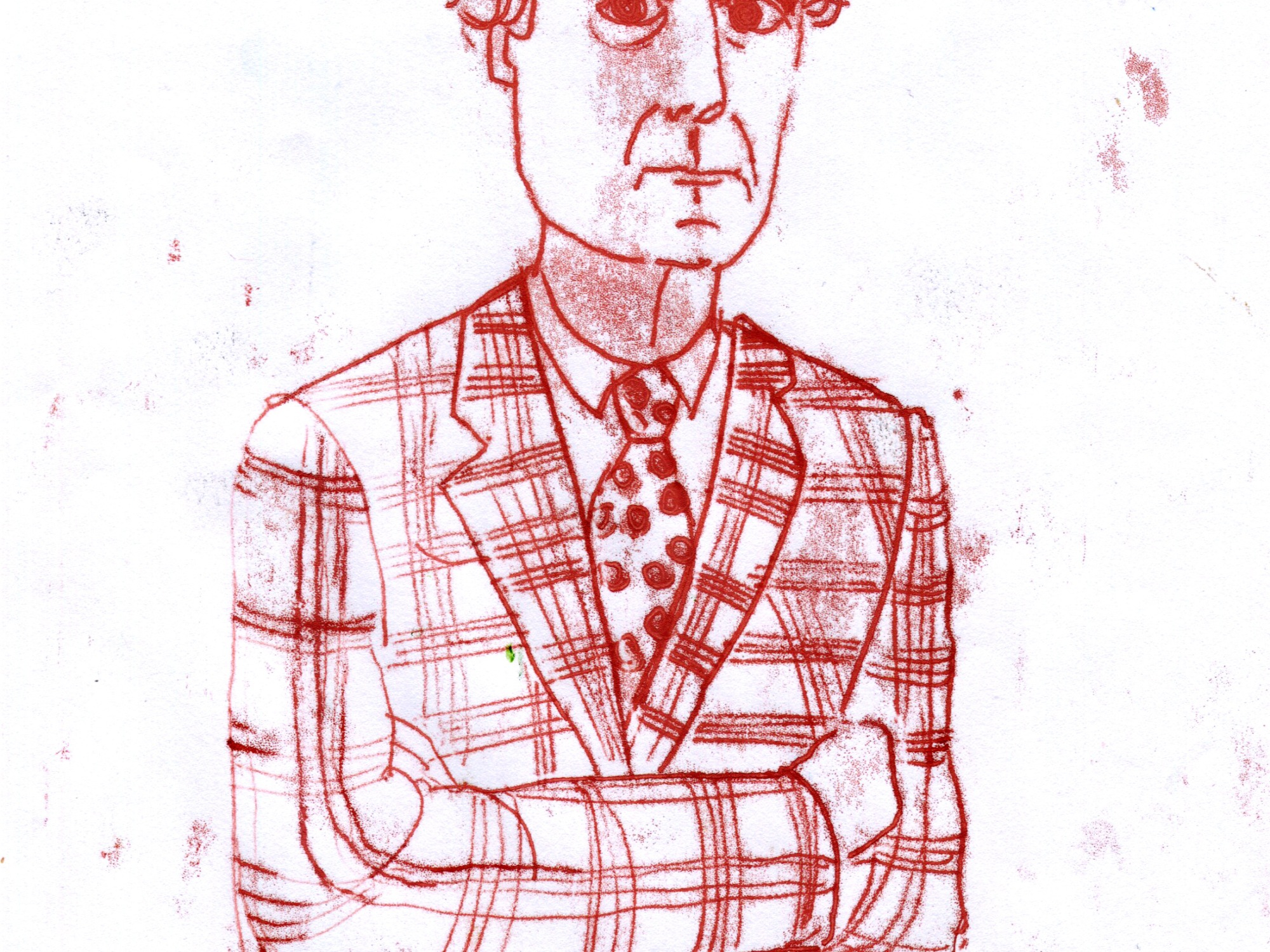 monoprint illustration