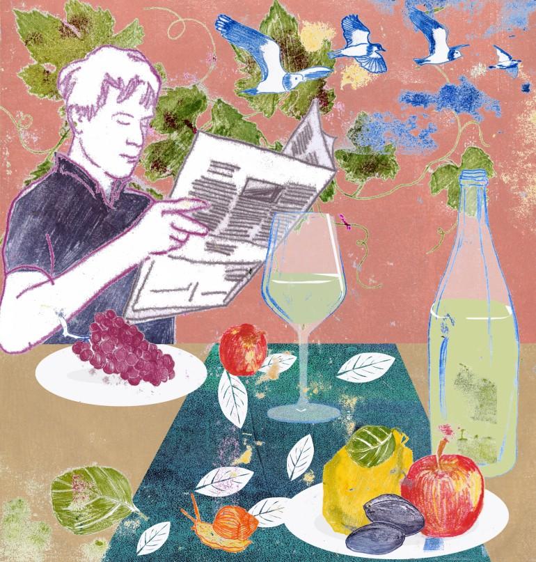SZ Vinothek Herbst Arinda Craciun Illustration