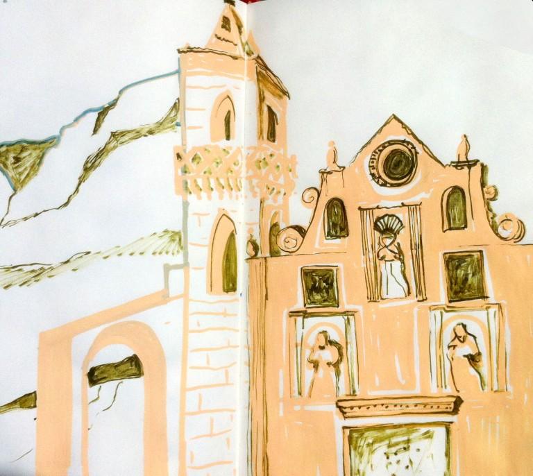 sketchbook arindacraciun italy