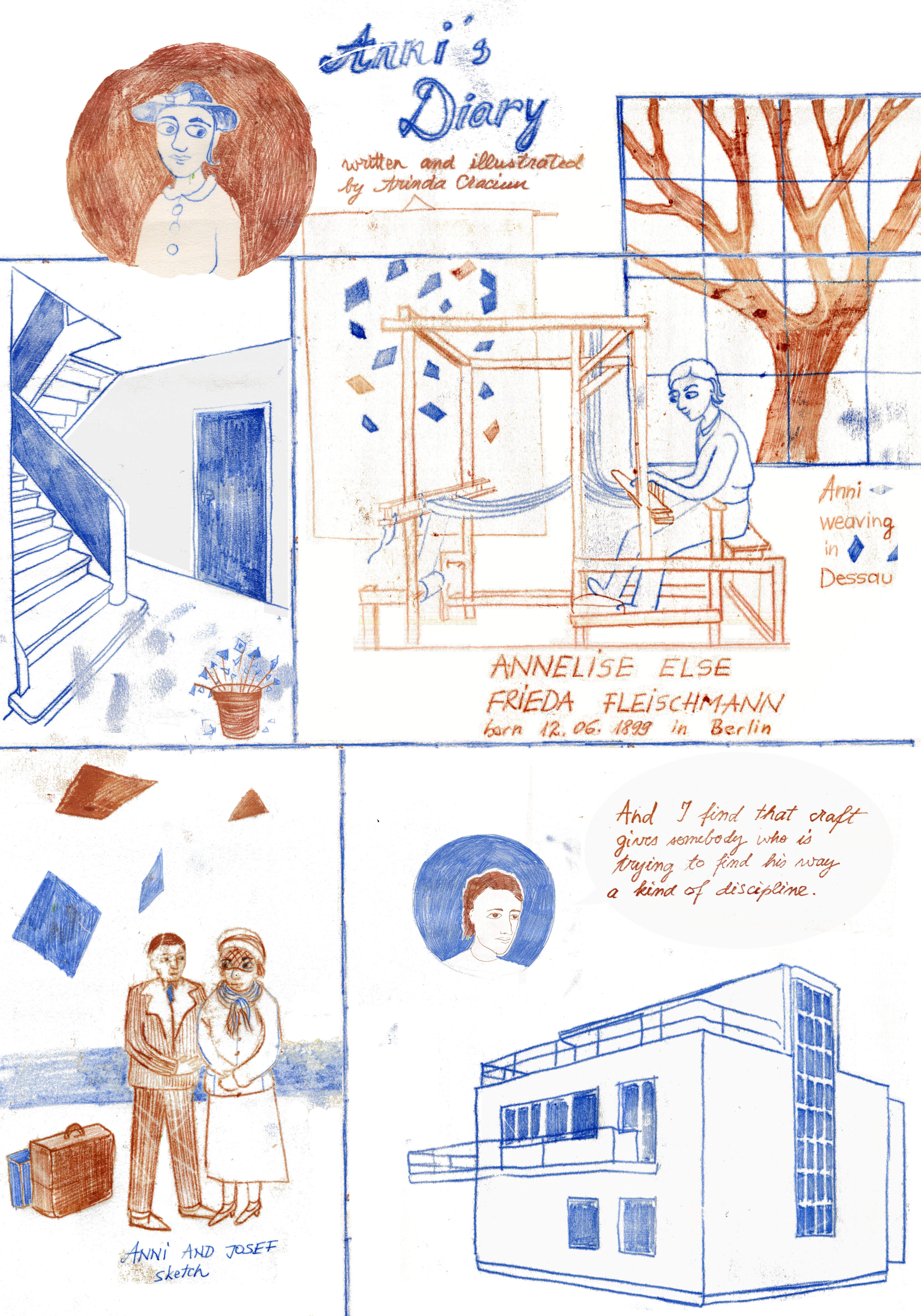 children´s book illustration print arindacraciun