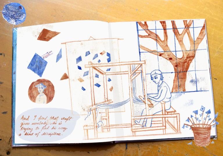 anni albers monoprint book kids