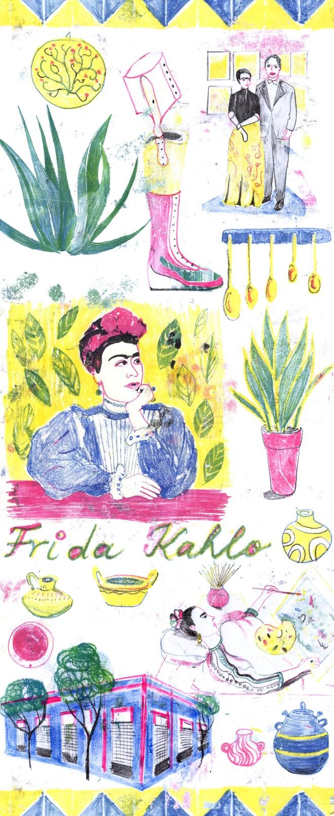 editorial illustrations arindacraciun portrait doodle artist painter